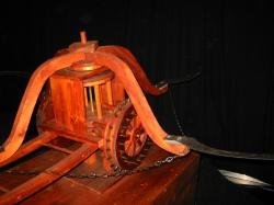 Колесница с ножами косами, Leonardo da Vinci