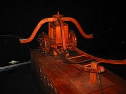 Колесница с ножами косами, Leonardo da Vinci (вид 2)