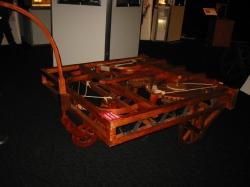 Самоходная машина (вид 2), по чертежам Леонардо да Винчи