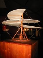 Leonardo da Vinci, helicopter (модель вертолёта Леонардо да Винчи)