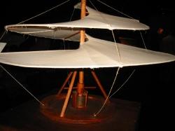 Воздушный винт для вертикального взлёта, Леонардо да Винчи