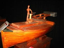 Морская пушка - по наброску Леонардо да Винчи