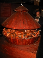 Танк Леонардо да Винчи (модель) Leonardo da Vinci machines tank 1